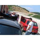 Refroidissement de Renault Clio dans les stands